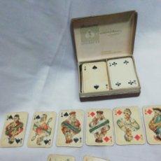 Barajas de cartas: BARAJA NAIPES ANTIGUOS. Lote 182873531