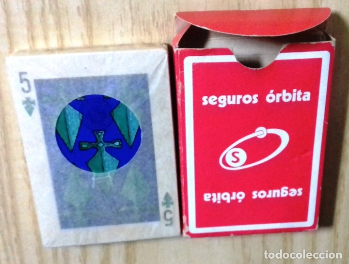 Barajas de cartas: SEGUROS ÓRBITA. POKER ESPAÑOL. HERACLIO FOURNIER. PRECINTADA. RARA - Foto 4 - 182912608