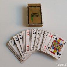 Barajas de cartas: BARAJA CARTAS POKER TOTAL. Lote 183018938