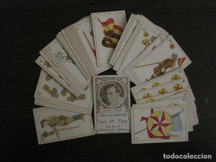 Barajas de cartas: BARAJA-BOY SCOUTS-REVERSO ARTISTAS CINE-48 CARTAS-PERFECTO ESTADO-CHOC·JOSE MªPUIG-VER FOTOS-V-18100 - Foto 2 - 183031201
