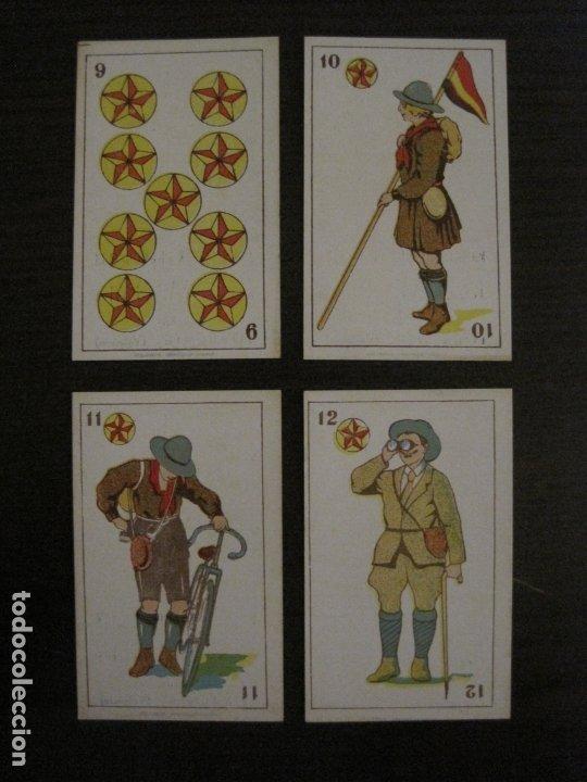Barajas de cartas: BARAJA-BOY SCOUTS-REVERSO ARTISTAS CINE-48 CARTAS-PERFECTO ESTADO-CHOC·JOSE MªPUIG-VER FOTOS-V-18100 - Foto 7 - 183031201