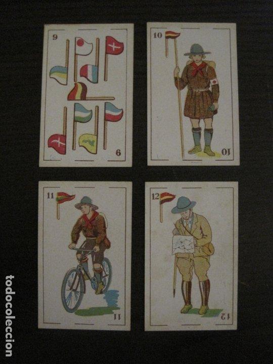 Barajas de cartas: BARAJA-BOY SCOUTS-REVERSO ARTISTAS CINE-48 CARTAS-PERFECTO ESTADO-CHOC·JOSE MªPUIG-VER FOTOS-V-18100 - Foto 18 - 183031201