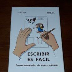 Barajas de cartas: ESCRIBIR ES FACIL * HERACLIO FOURNIER - MIÑON S.A. * AÑO 1973 - NUEVA Y PERFECTA!!. Lote 183091491