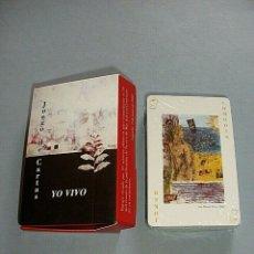 Barajas de cartas: JUEGO DE CARTAS YO VIVO MAX AUB EDICION LIMITADA CONMEMORACION CENTENARIO 2003, NUEVO. Lote 183170248