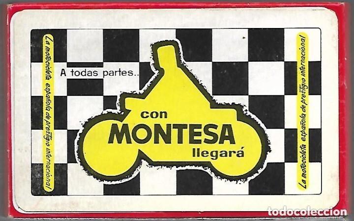 BARAJA NAIPE ESPAÑOL MOTOCICLETA MONTESA, SIN ESTRENAR Y CAJA ORIGINAL. N. COMAS. (Juguetes y Juegos - Cartas y Naipes - Baraja Española)