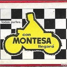 Barajas de cartas: BARAJA NAIPE ESPAÑOL MOTOCICLETA MONTESA, SIN ESTRENAR Y CAJA ORIGINAL. N. COMAS.. Lote 183282398