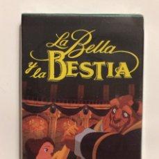 Barajas de cartas: LA BELLA Y LA BESTIA DE DISNEY - CARTAS FOURNIER - M.I.B , PRECINTADA. Lote 183321750