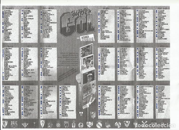 LOTE 240 CARTAS DIFERENTES MARCA SUPERGOL SUPER GOL 1995 1996 95 96 NAIPES HERACLIO FOURNIER (Juguetes y Juegos - Cartas y Naipes - Otras Barajas)