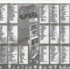 Barajas de cartas: LOTE 240 CARTAS DIFERENTES MARCA SUPERGOL SUPER GOL 1995 1996 95 96 NAIPES HERACLIO FOURNIER. Lote 183432482