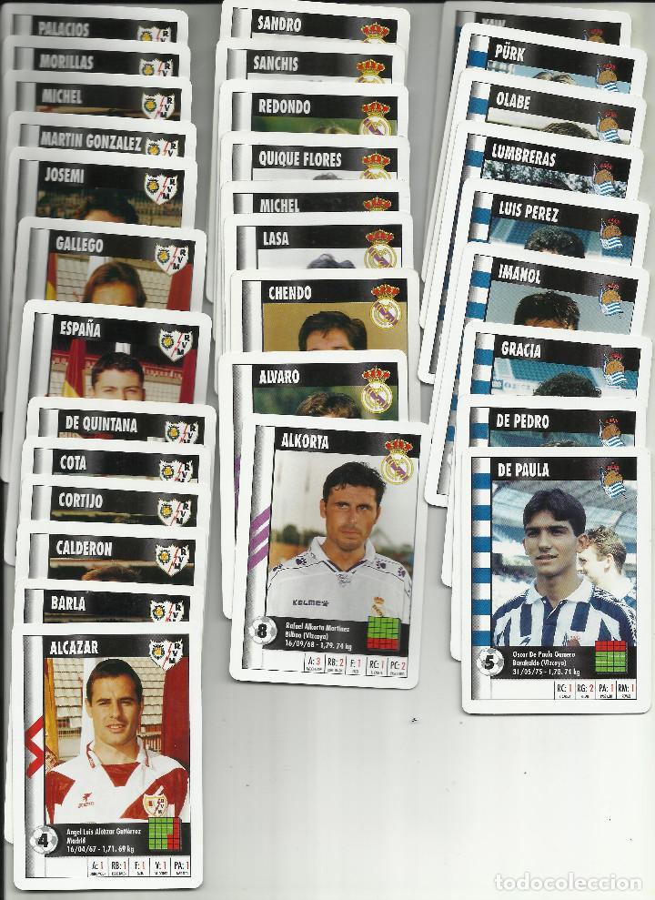 Barajas de cartas: LOTE 240 CARTAS DIFERENTES MARCA SUPERGOL SUPER GOL 1995 1996 95 96 NAIPES HERACLIO FOURNIER - Foto 6 - 183432482