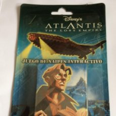Barajas de cartas: ATLANTIS, THE LOST EMPIRE DE DISNEY - CARTAS FOURNIER - M.I.B , PRECINTADA. Lote 231557505