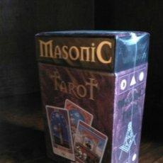 Barajas de cartas: MASONIC TAROT (NUEVO). Lote 183559646
