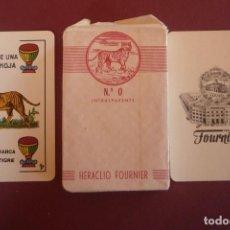 Barajas de cartas: BARAJA MARCA 'EL TIGRE'. 48 CARTAS+DOS COMODINES Nº 0. HERACLIO FOURNIER-VITORIA. Lote 183621275