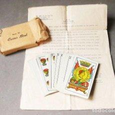 Barajas de cartas: BARAJA DE CARTAS DE MAGIA - Nº 25 CARTAS BISEL. LA HISPANO AMERICANA. JUAN ROURA. BARCELONA. 52 CART. Lote 183823288