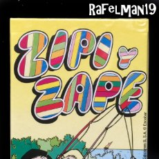 Barajas de cartas: ZIPI Y ZAPE DE ESCOBAR - NAIPES INFANTILES FOURNIER - PRECINTADA ORIGINAL DE FABRICA. Lote 183879327