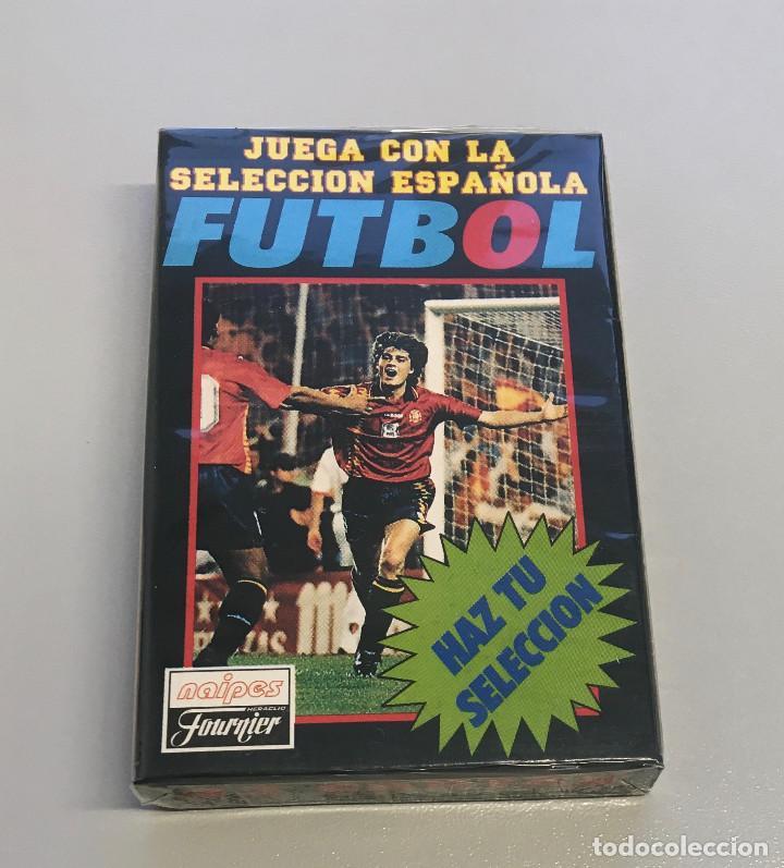 HERACLIO FOURNIER - FUTBOL SELECCION ESPAÑOLA (Juguetes y Juegos - Cartas y Naipes - Barajas Infantiles)