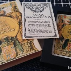 Barajas de cartas: BARAJA IBEROAMERICANA SIN USO EN SU ESTUCHE . Lote 183904461