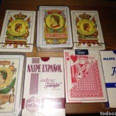 Barajas de cartas: LOTE BARAJAS DE CARTAS. Lote 183905000