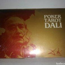 Barajas de cartas: TAROT DALÍ. 2 BARAJAS ESTUCHE. POKER. .. Lote 184029787