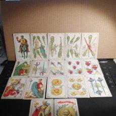 Barajas de cartas: CARTAS NAIPES BARAJA DON QUIJOTE CON PUBLICIDAD DE MAGATZEMS JORBA. Lote 184031933