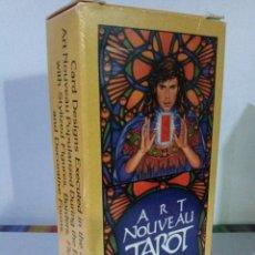 Barajas de cartas: TAROT ART NOUVEAU.. Lote 184034371