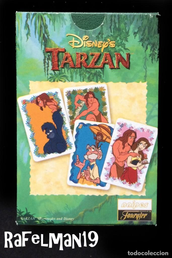 Barajas de cartas: TARZAN - DISNEY - NAIPES INFANTILES FOURNIER - PRECINTADA ORIGINAL DE FABRICA - Foto 2 - 184042577