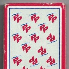 Barajas de cartas: BARAJA DE CARTAS ESPAÑOLA HERACLIO FOURNIER EN ESTUCHE - PP (PARTIDO POPULAR) - BARAJACARTAS-269. Lote 184088702