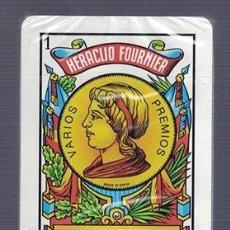 Barajas de cartas: BARAJA DE CARTAS ESPAÑOLA HERACLIO FOURNIER PRECINTADA - BARAJACARTAS-273. Lote 184089941