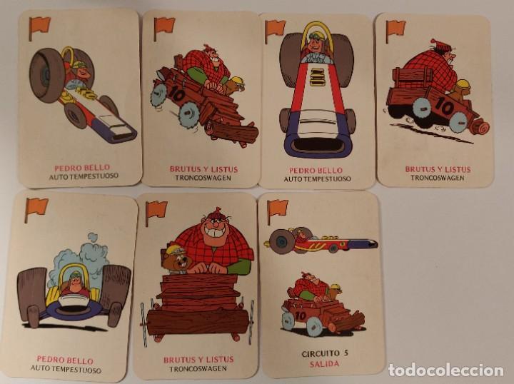 Barajas de cartas: Baraja infantil EL JUEGO DE LA GRAN CARRERA - Foto 6 - 184303692