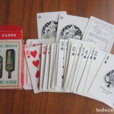 Jeux de cartes: BARAJA DE POKER FOURNIER-PASSPORT SCOTCH-54 CARTAS USADA. Lote 184314530