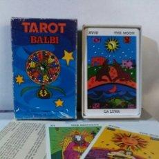 Barajas de cartas: TAROT BALBI.. Lote 184328345