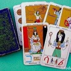 Baralhos de cartas: RARO TAROT EGIPCIO APEROL. CARTAS SIN USAR. ANTIGUAS CARTAS DE ADIVINACIÓN.. Lote 184359688