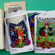 Barajas de cartas: GIPSY TAROT TSIGANE. TAROT DE LOS GITANOS. SIN USAR.CARTAS ADIVINACION FOURNIER.. Lote 184360375