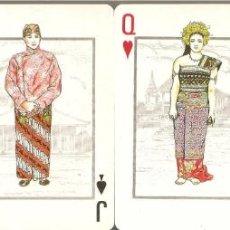 Barajas de cartas: BARAJA, GARUDA INDONESIA AIRLINE, 52+2 JOKER, NUEVA, . Lote 184364786