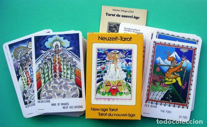 1982. TAROT NEUZEIT. SIN ESTRENAR. NAIPES CARTAS DE ADIVINACIÓN.AGM MULLER. (Juguetes y Juegos - Cartas y Naipes - Barajas Tarot)