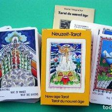 Barajas de cartas: 1982. TAROT NEUZEIT. SIN ESTRENAR. NAIPES CARTAS DE ADIVINACIÓN.AGM MULLER.. Lote 184365151