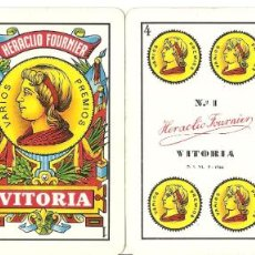 Barajas de cartas: BARAJA, JOHN DEERE, FOURNIER Nº 1, 1960. Lote 184365773