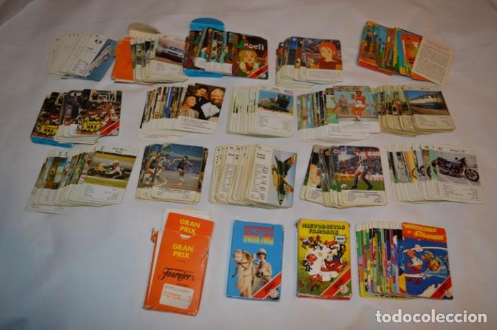 4 BARAJAS FOURNIER VARIADAS + MÁS SUPER REGALO, OTRAS 15 BARAJAS DIFERENTES ¡MIRA FOTOS Y DETALLES! (Juguetes y Juegos - Cartas y Naipes - Barajas Infantiles)