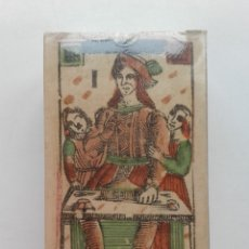 Barajas de cartas: TAROT FLORENTINO MINCHIATE AL LEONE. ITALIA SIGLO XVIII, 1790 FASCIMIL - BARAJA NUEVA Y PRECINTADA. Lote 194634648