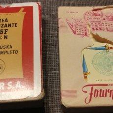 Barajas de cartas: BARAJA HERACLIO FOURNIER N° 20 UREA FERTILIZANTE. Lote 184401676