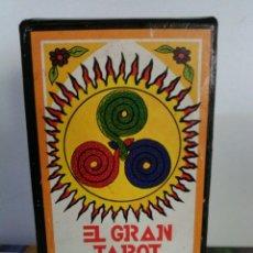 Barajas de cartas: EL GRAN TAROT ESOTÉRICO.. Lote 184532257