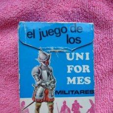 Baralhos de cartas: BARAJA INFANTIL EL JUEGO DE LOS UNIFORMES - EDICIONES RECREATIVAS - 1970. Lote 184733468