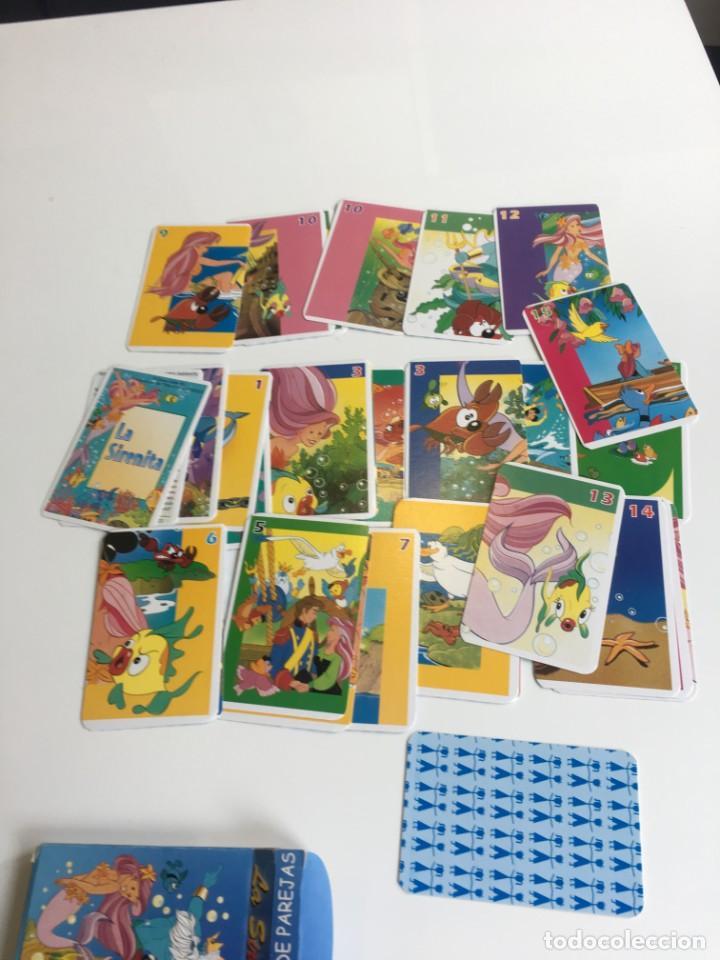 Barajas de cartas: Juego antiguo de cartas, Baraja de La sirenita, baraja , baraja infantil - Foto 5 - 184744270
