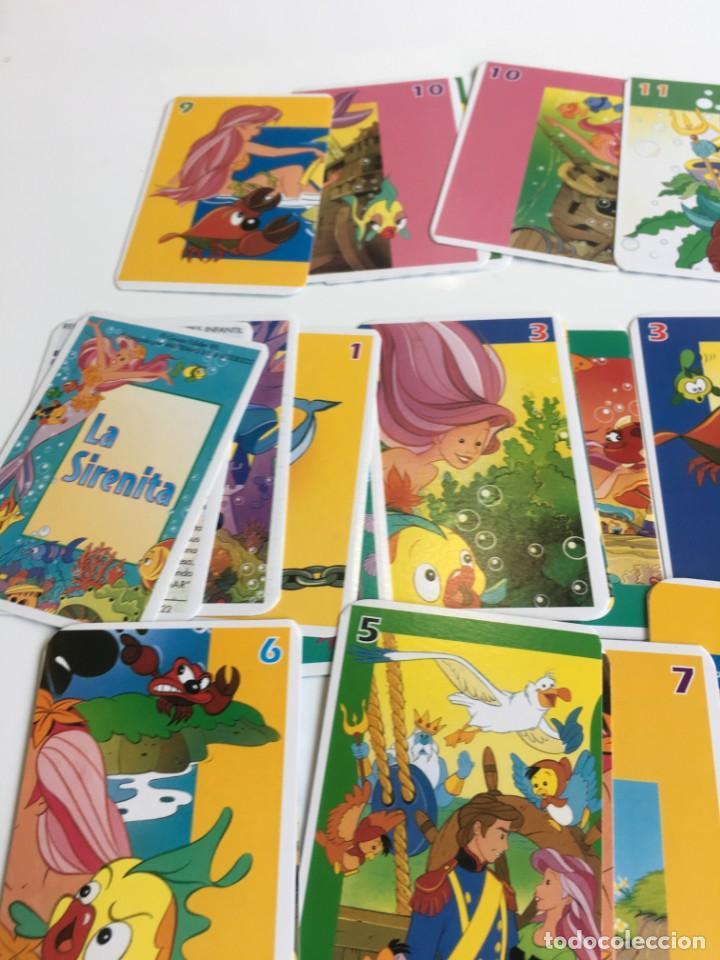 Barajas de cartas: Juego antiguo de cartas, Baraja de La sirenita, baraja , baraja infantil - Foto 6 - 184744270