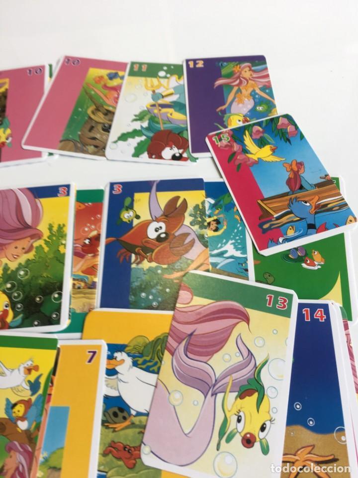 Barajas de cartas: Juego antiguo de cartas, Baraja de La sirenita, baraja , baraja infantil - Foto 7 - 184744270