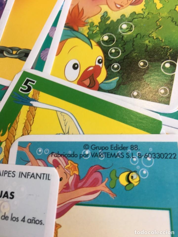 Barajas de cartas: Juego antiguo de cartas, Baraja de La sirenita, baraja , baraja infantil - Foto 8 - 184744270