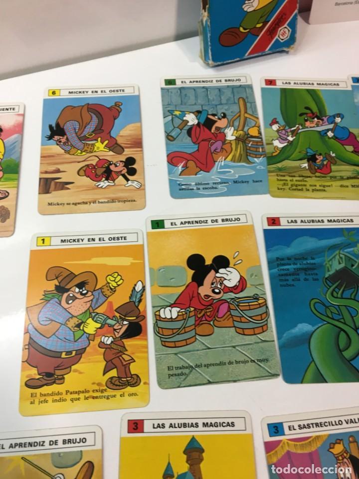 Barajas de cartas: Juego antiguo de cartas,Baraja de Mickey Mouse heraclio, baraja, baraja infantil, - Foto 6 - 184744391