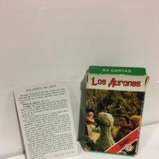 Barajas de cartas: JUEGO ANTIGUO DE CARTAS, BARAJA DE LOS AURONES DE HERACLIO, BARAJA, BARAJA INFANTIL,. Lote 184744432
