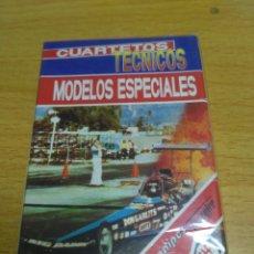 Barajas de cartas: JUEGO DE CARTAS CUARTETOS TECNICOS MODELOS ESPECIALES FOURNIER NAIPES PRECINTADO. Lote 184776205