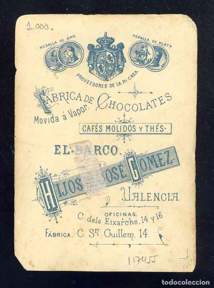 Barajas de cartas: Baraja de Chocolates El Barco, grande: 9 de espadas - Foto 2 - 184829046